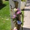 base floreale colonna